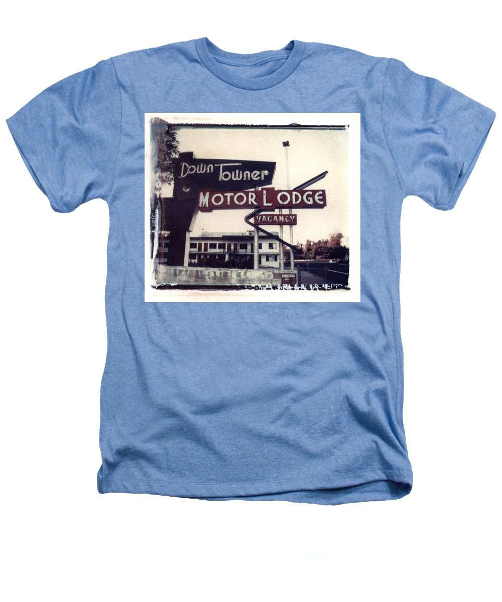Landscape Heathers T-Shirt featuring the photograph Down Towner by Jane Linders