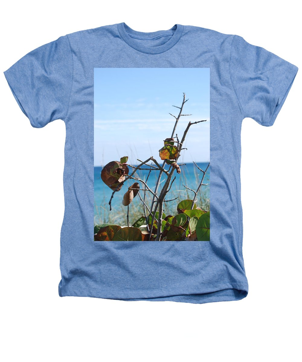 Ocean Heathers T-Shirt featuring the photograph Dune Plants by Rob Hans