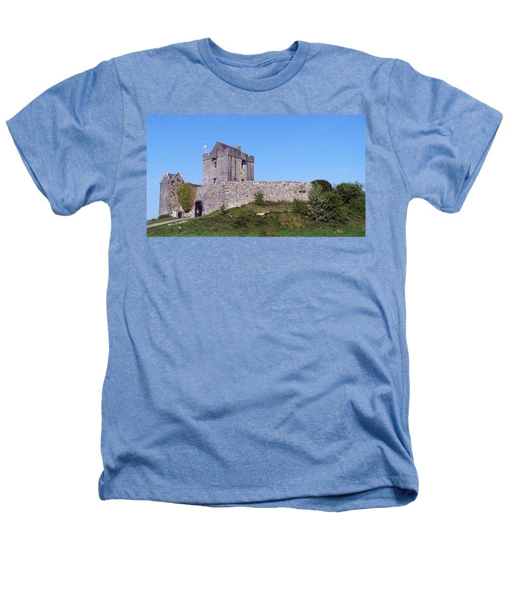 Irish Heathers T-Shirt featuring the photograph Dunguaire Castle Kinvara Ireland by Teresa Mucha