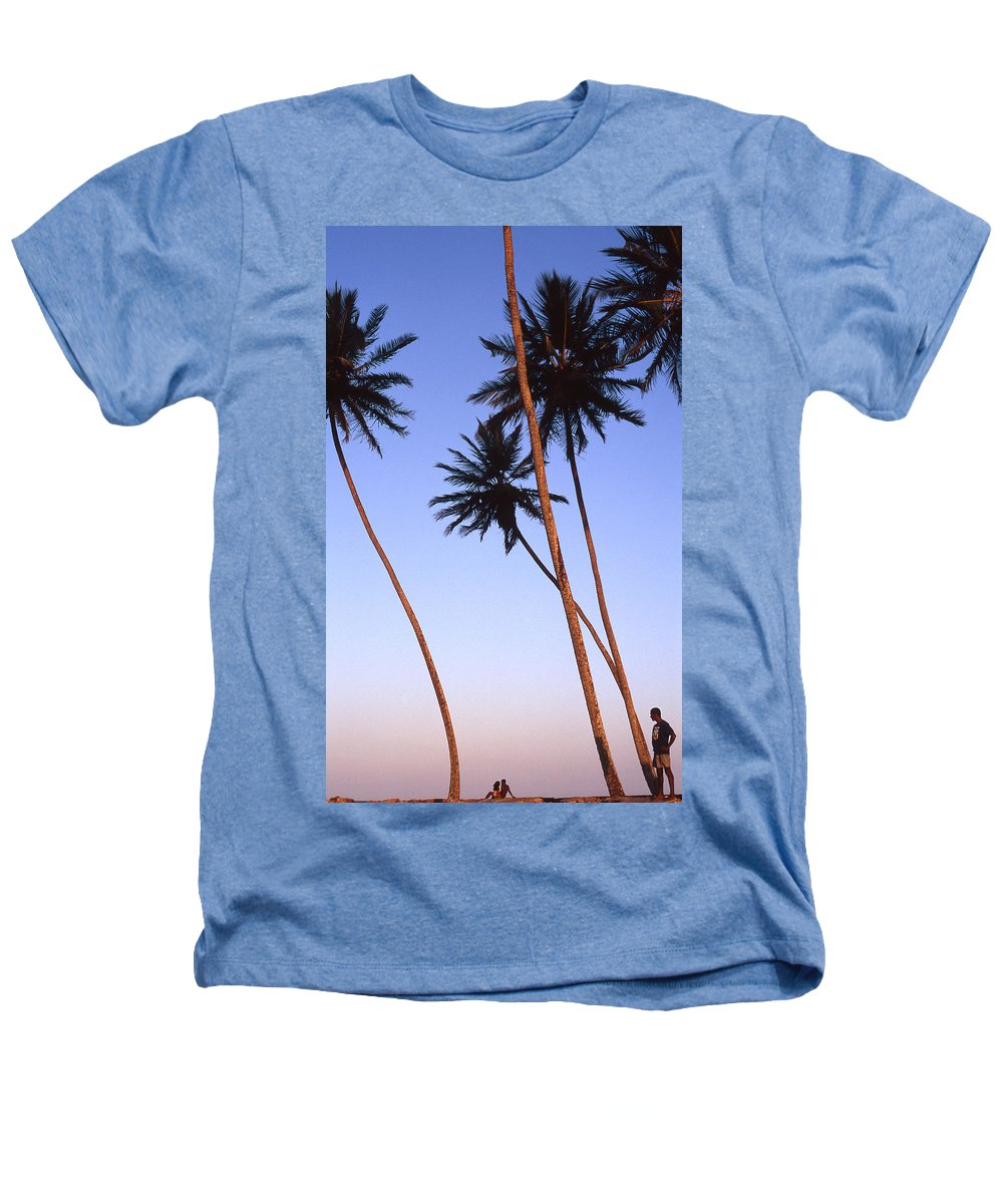 Bahia Heathers T-Shirt featuring the photograph Dusk In Morro by Patrick Klauss