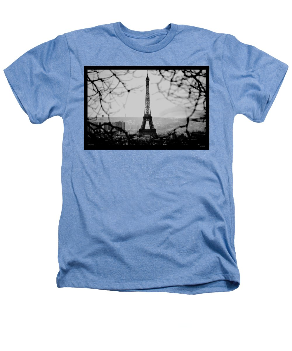 Eiffel Heathers T-Shirt featuring the photograph Eiffel Eyeful by J Todd