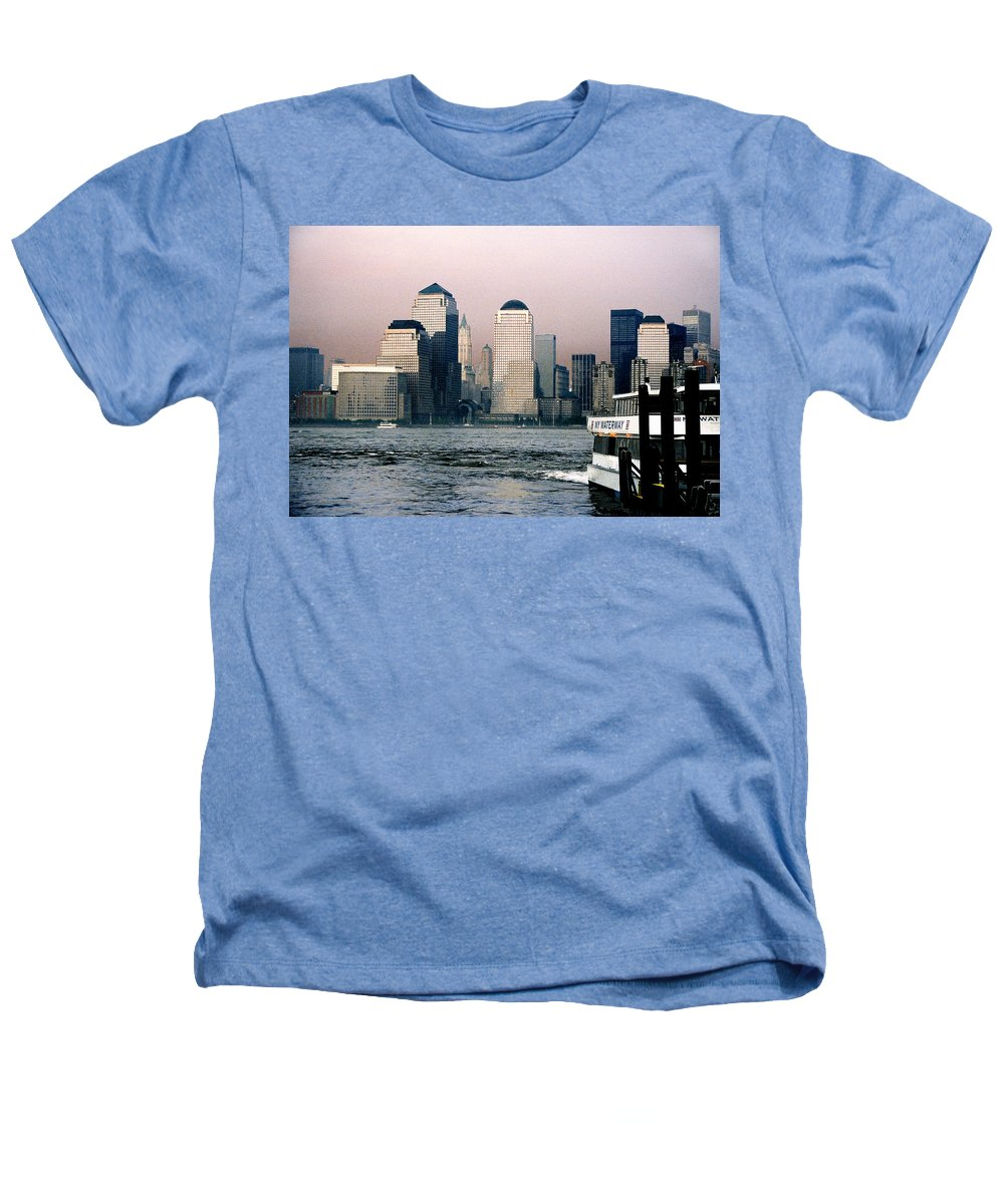 New York Heathers T-Shirt featuring the photograph Empty Sky by Steve Karol