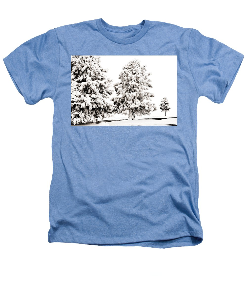 Trees Heathers T-Shirt featuring the photograph Family Of Trees by Marilyn Hunt