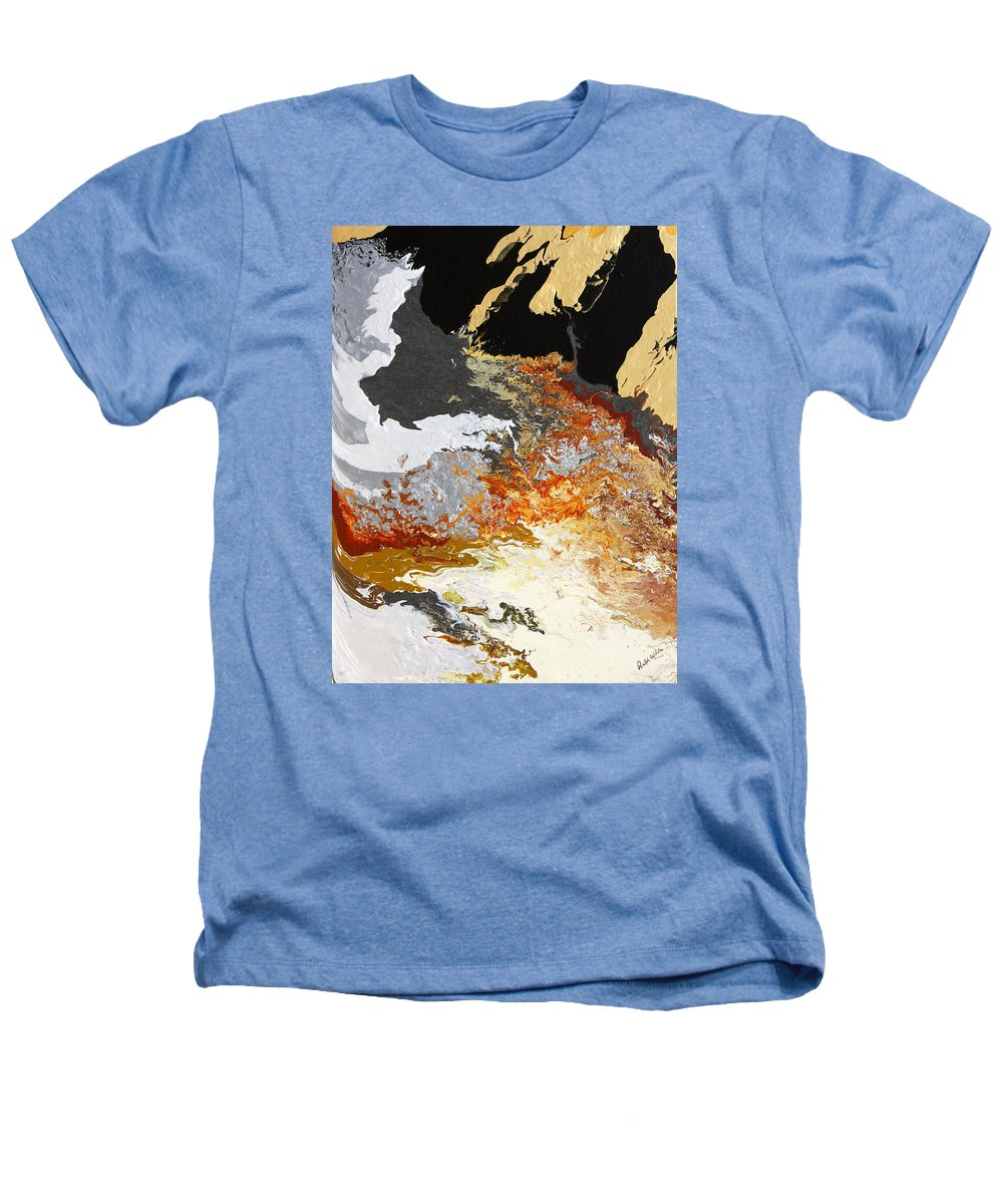 Fusionart Heathers T-Shirt featuring the painting Fathom by Ralph White
