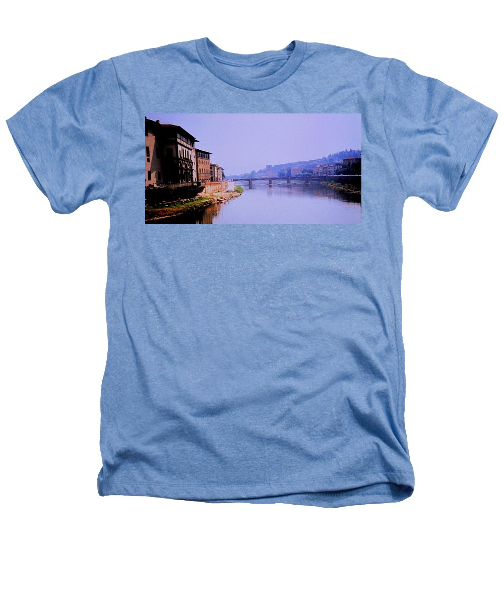 Florence Heathers T-Shirt featuring the photograph Florence by Ian MacDonald