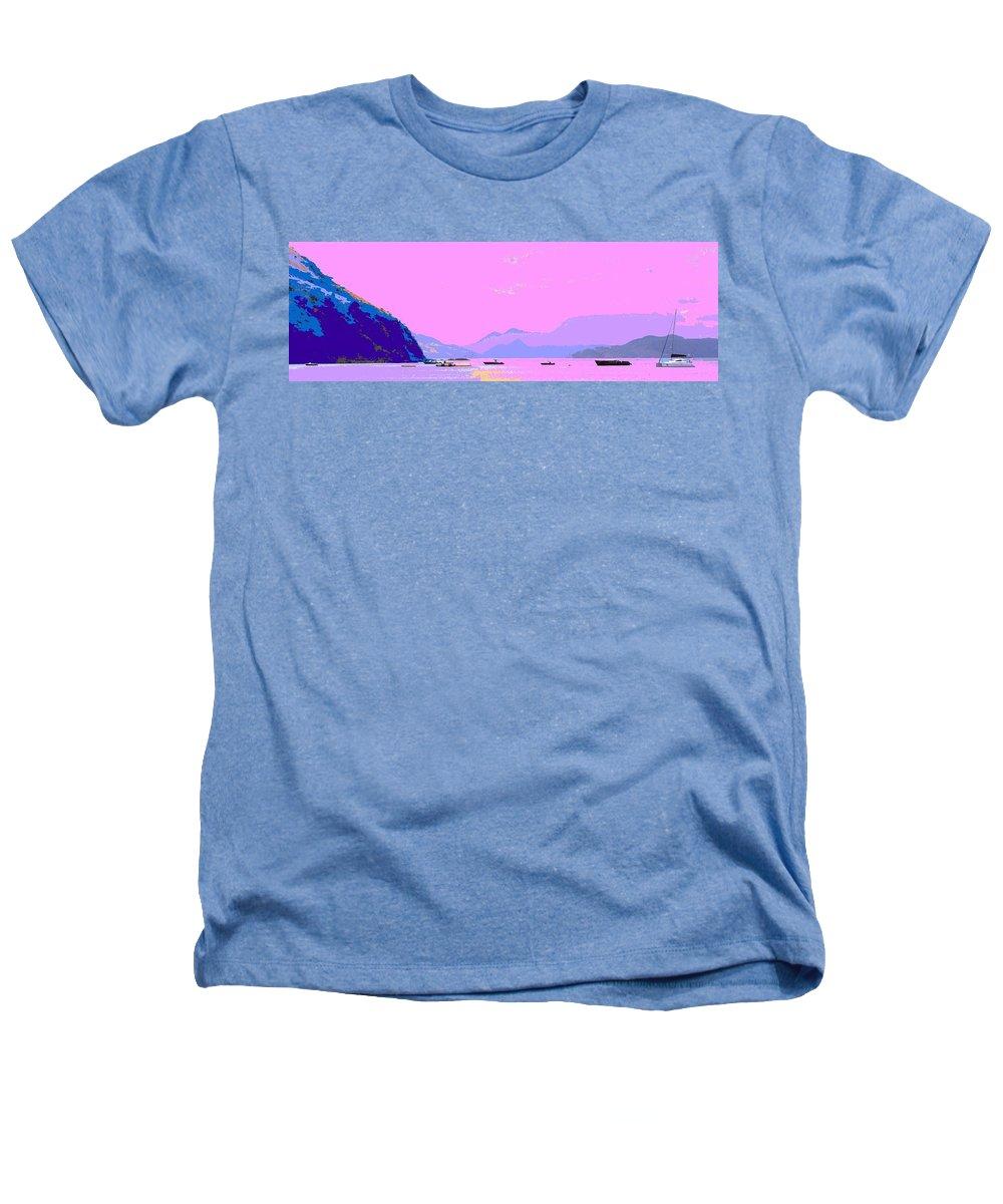 Frigate Heathers T-Shirt featuring the photograph Frigate Bay Morning by Ian MacDonald