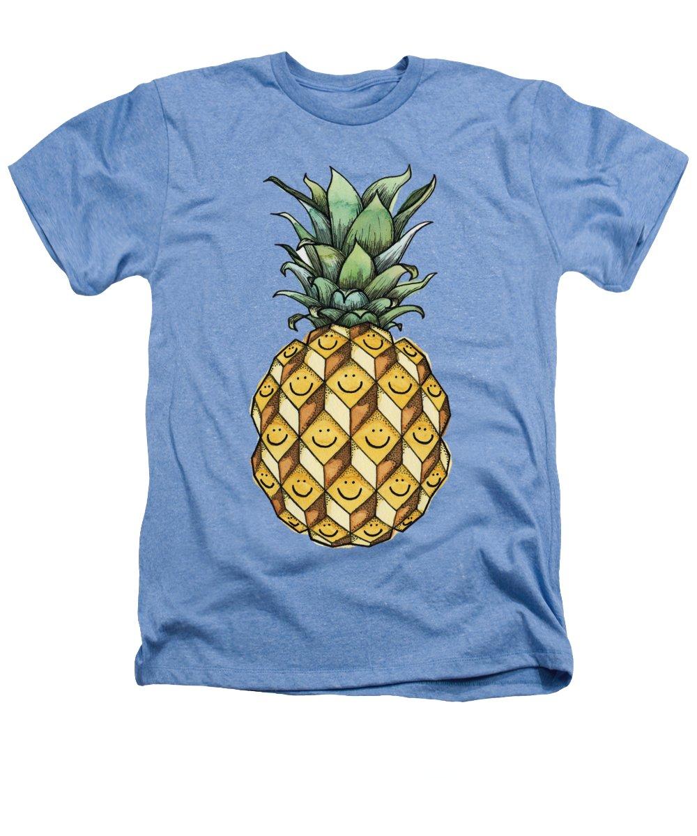 Pineapple Heathers T-Shirts