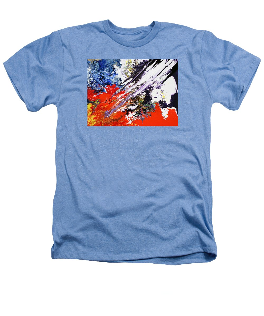 Fusionart Heathers T-Shirt featuring the painting Genesis by Ralph White