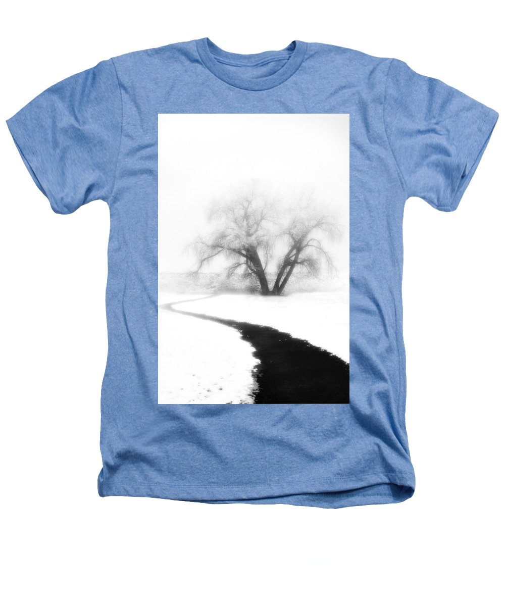 Tree Heathers T-Shirt featuring the photograph Getting There by Marilyn Hunt