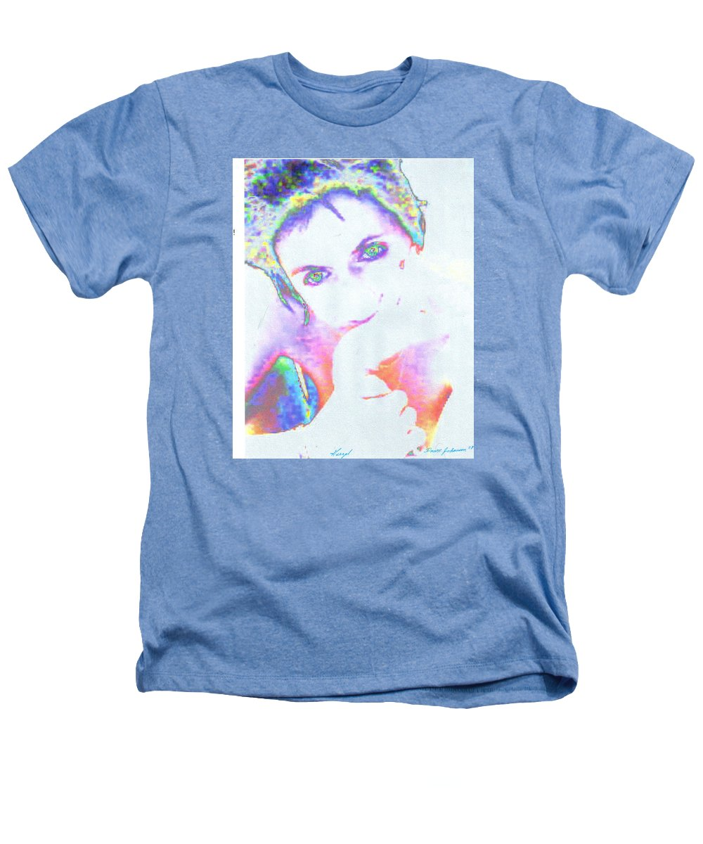 Portrate Of A French Girl Heathers T-Shirt featuring the photograph Gisele by Dawn Johansen