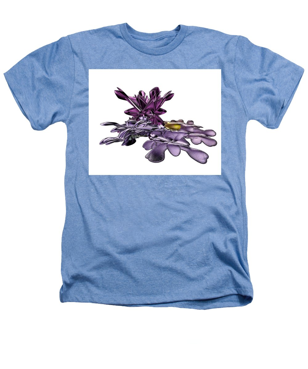 Fractal Heathers T-Shirt featuring the digital art Golumphr Castle by Frederic Durville