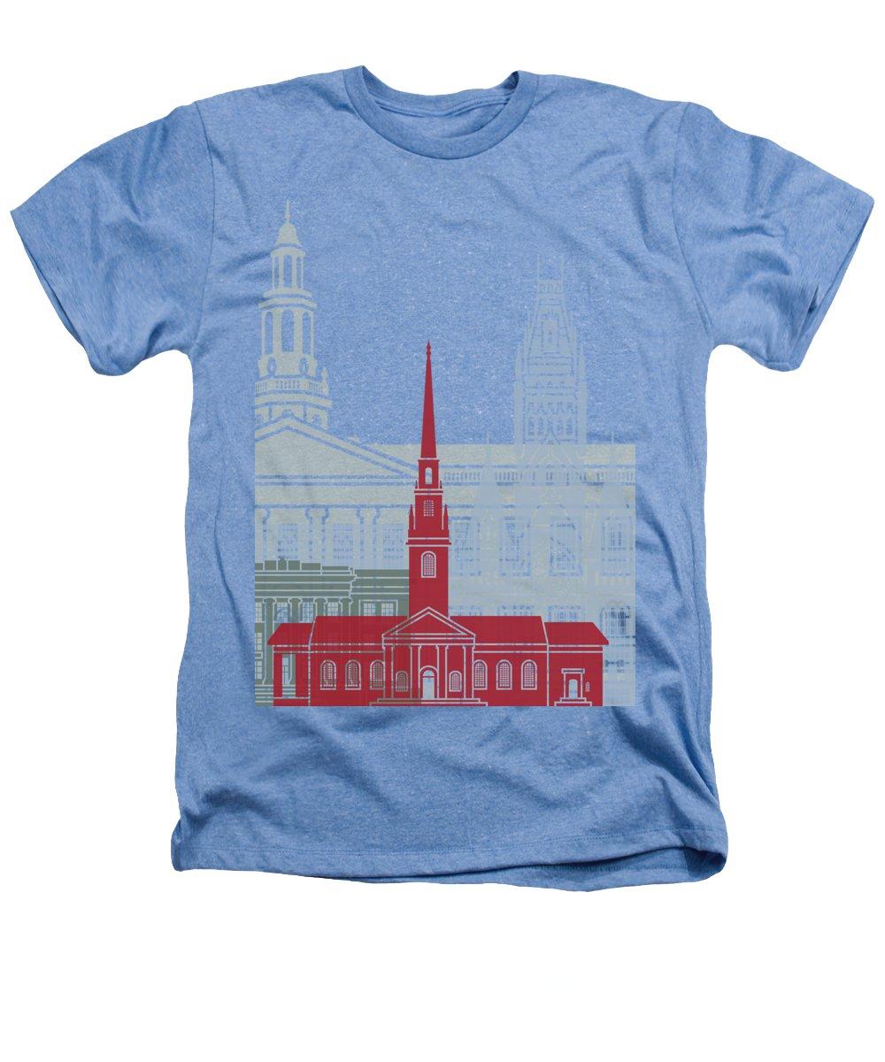 Harvard Heathers T-Shirts