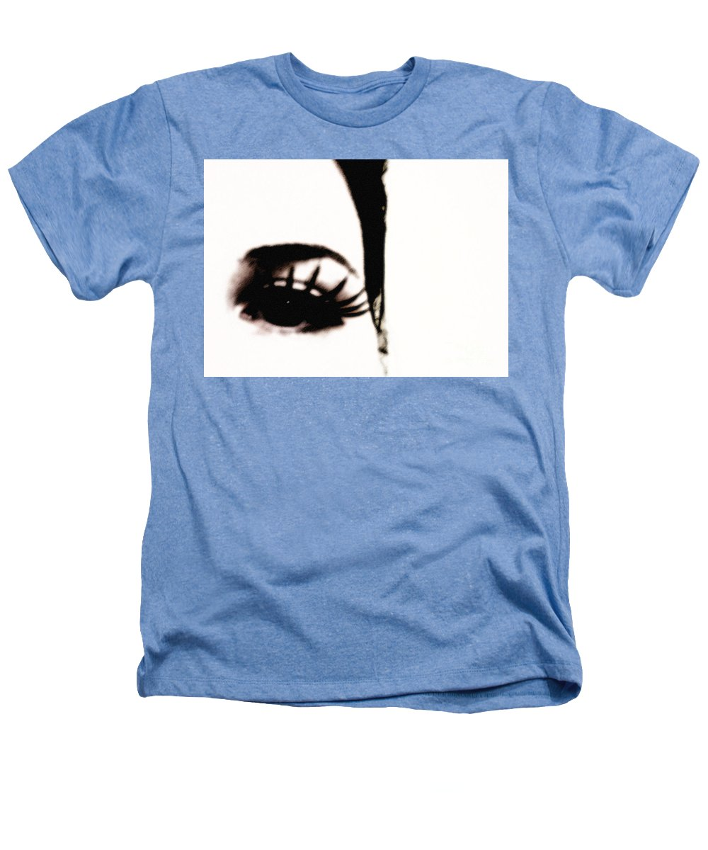 Eye Heathers T-Shirt featuring the photograph Hello by Amanda Barcon