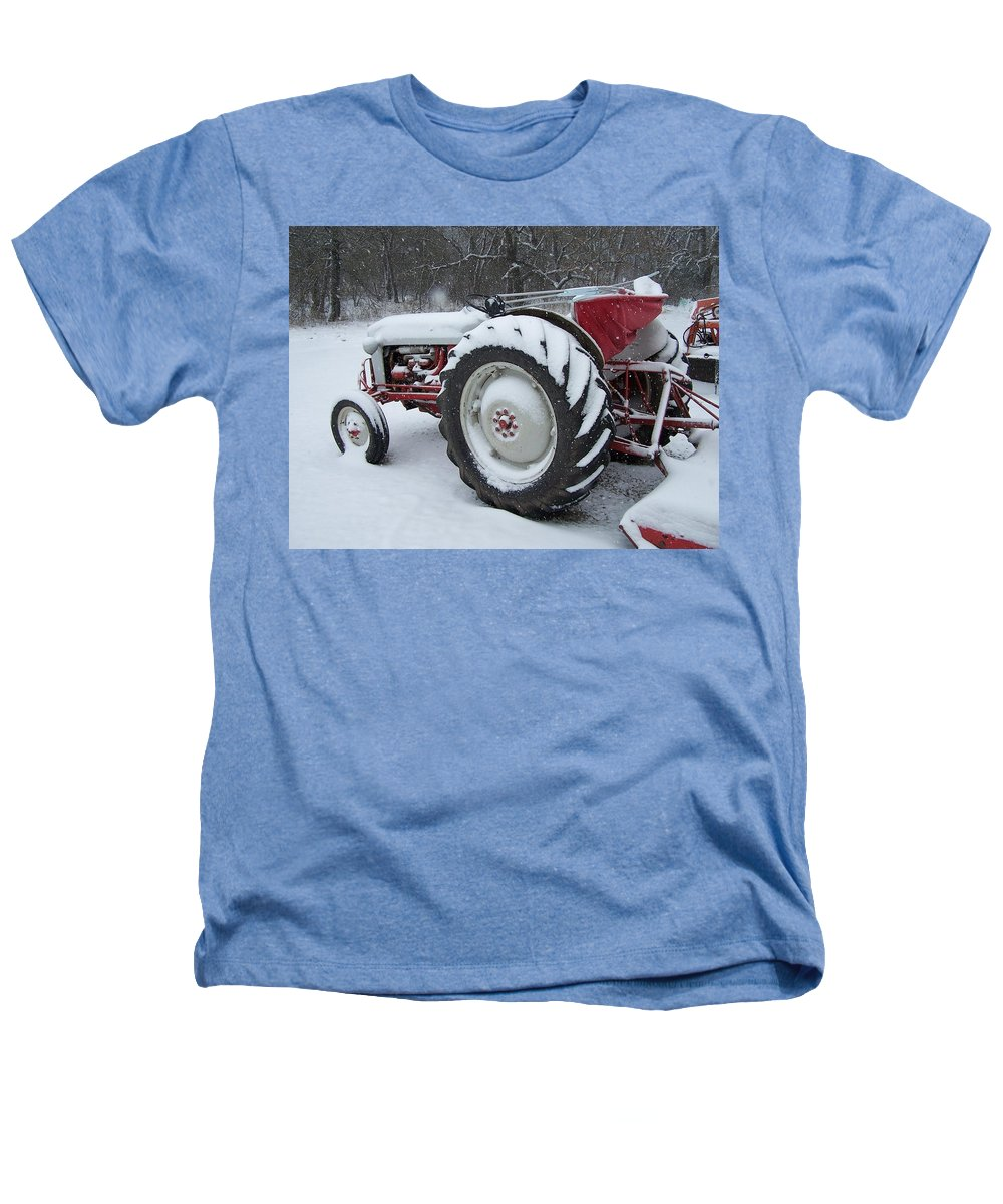 Tractor Heathers T-Shirt featuring the photograph Herman by Gale Cochran-Smith