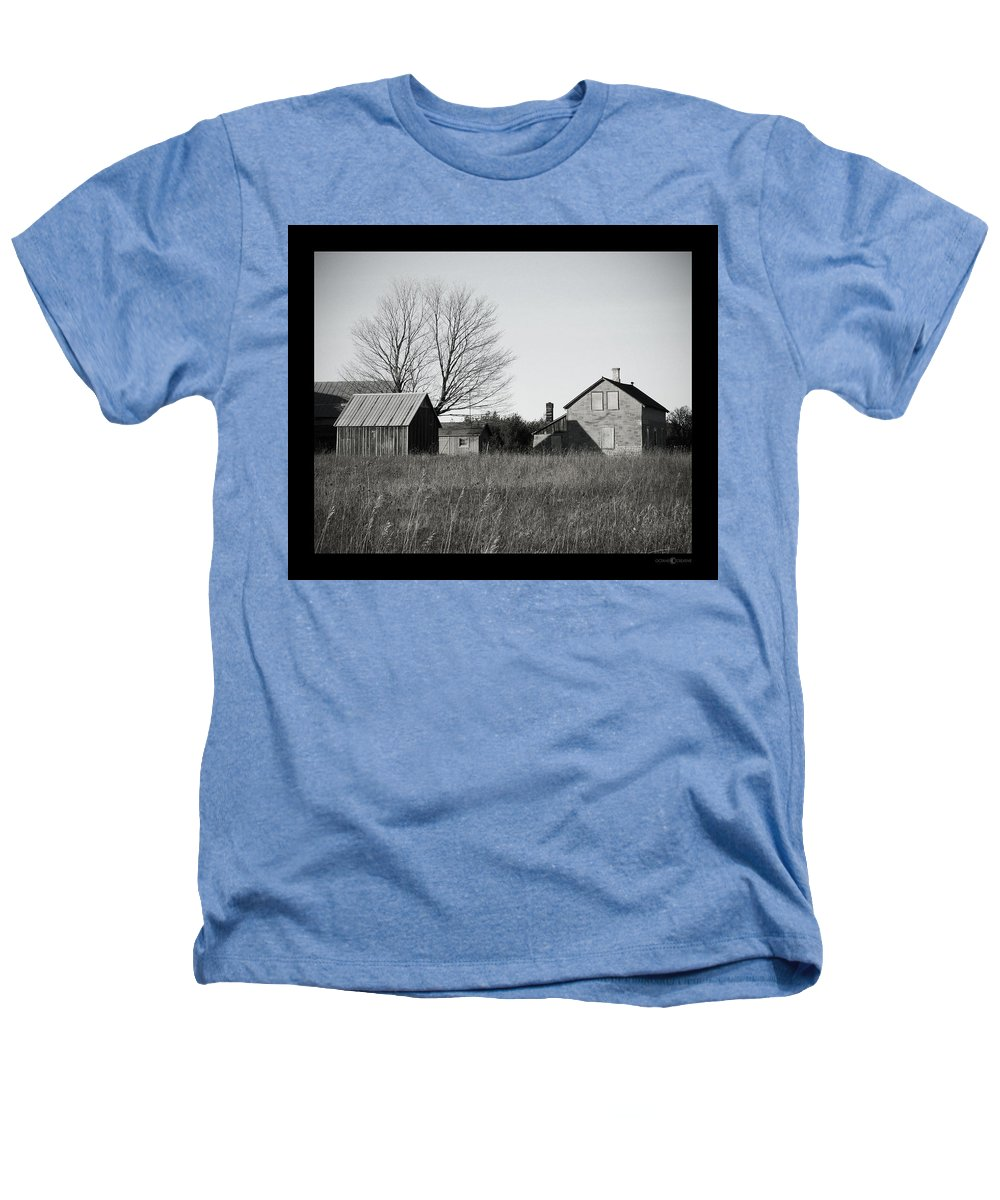 Deserted Heathers T-Shirt featuring the photograph Homestead by Tim Nyberg