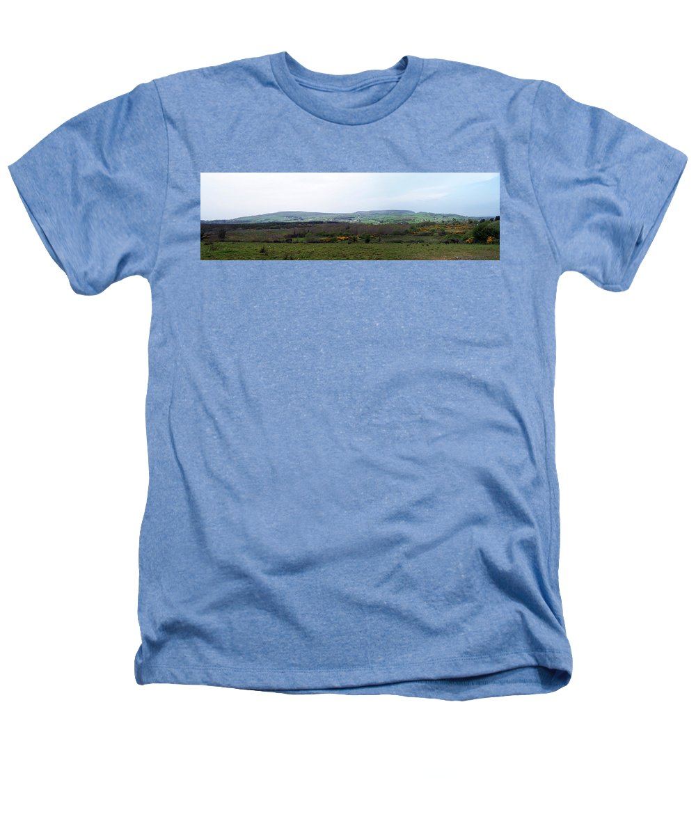 Ireland Heathers T-Shirt featuring the photograph Horses At Lough Arrow County Sligo Ireland by Teresa Mucha