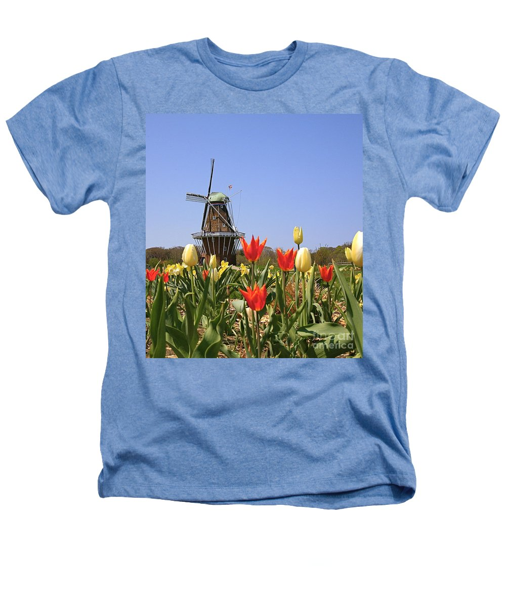 Tulips Heathers T-Shirt featuring the photograph Its Tulip Time by Robert Pearson