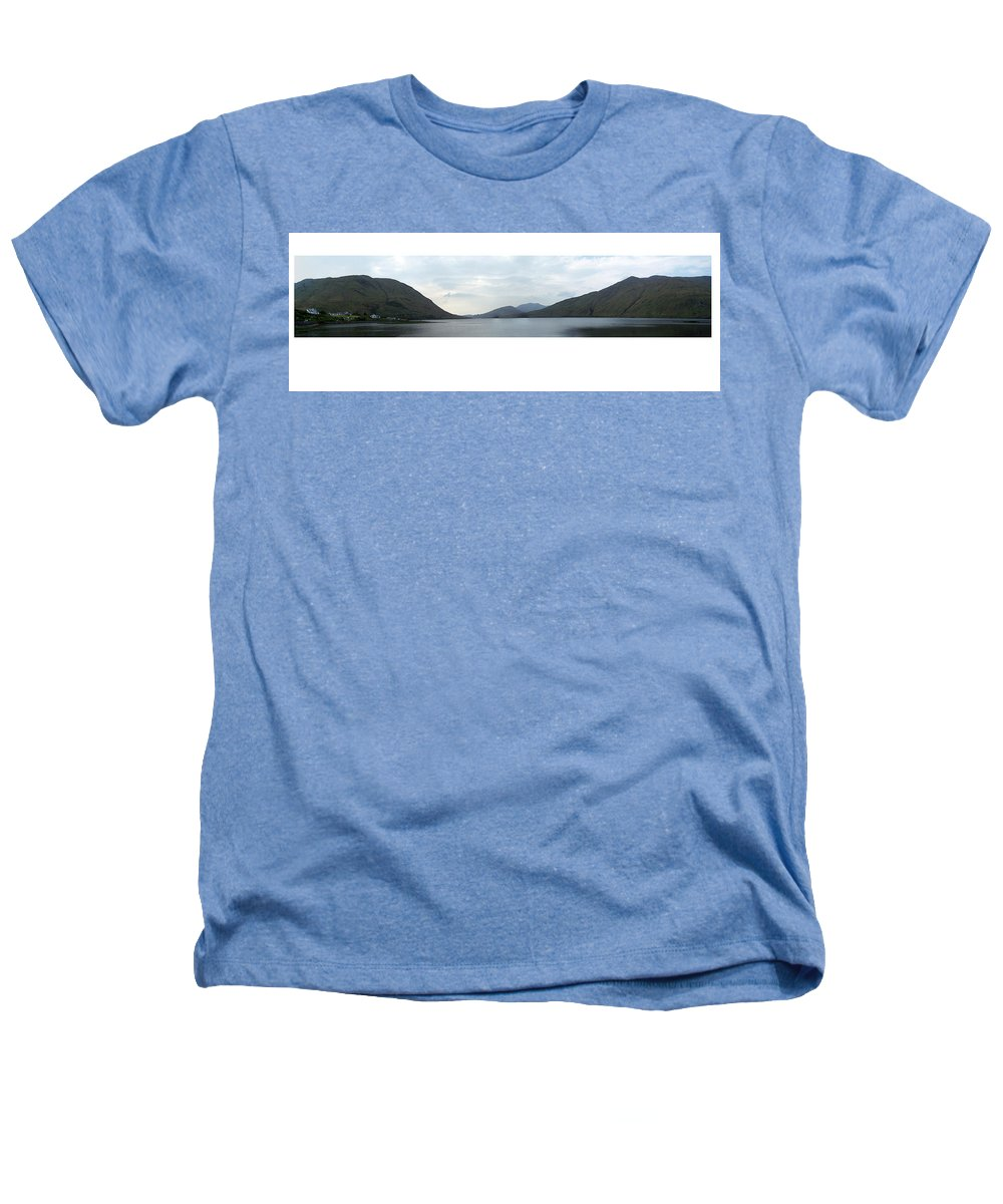 Landscape Heathers T-Shirt featuring the photograph Killary Harbour Leenane Ireland by Teresa Mucha
