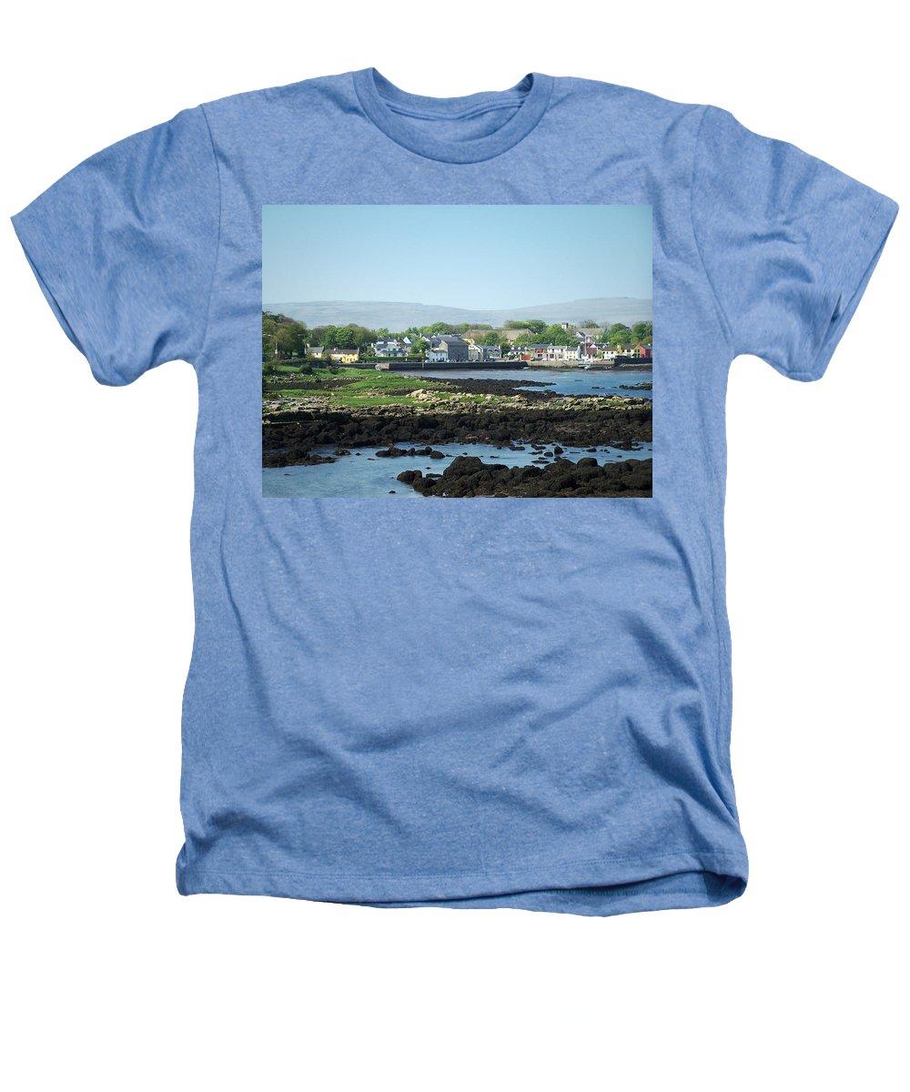 Irish Heathers T-Shirt featuring the photograph Kinvara Seaside Village Galway Ireland by Teresa Mucha