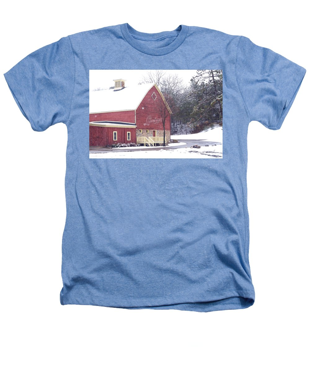 Barn Heathers T-Shirt featuring the photograph Leinie by Tim Nyberg