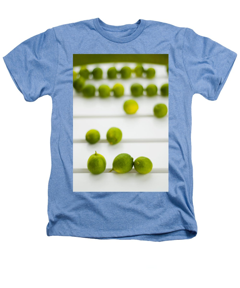 Green Heathers T-Shirt featuring the photograph Lime Green by Skip Hunt