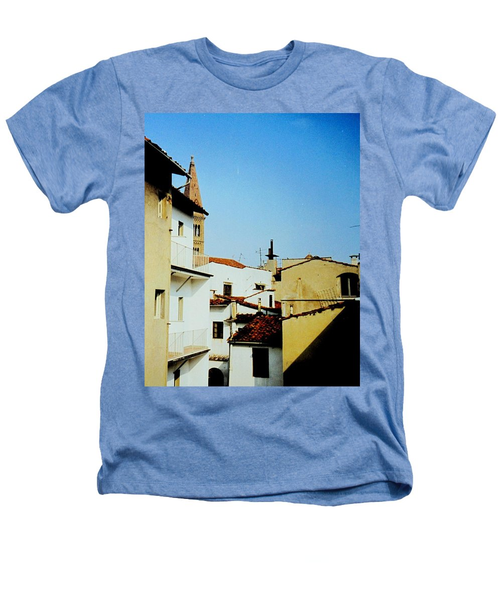 Lisbon Heathers T-Shirt featuring the photograph Lisbon Angles by Ian MacDonald