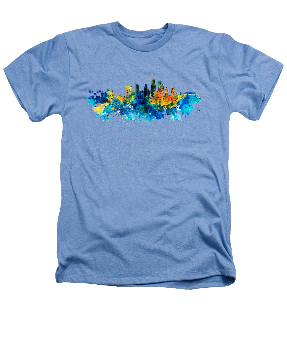 Los Angeles Skyline Heathers T-Shirts