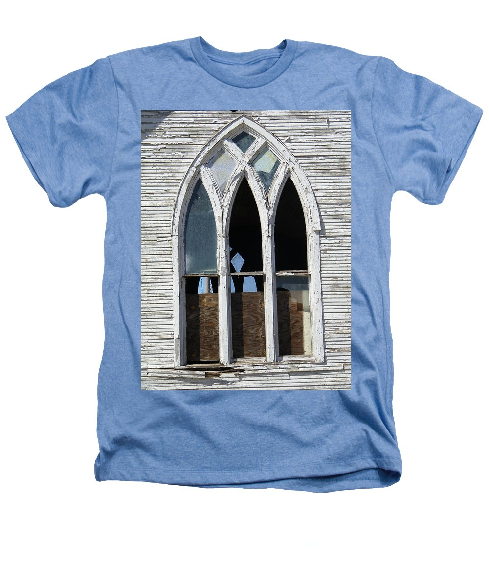 Church Heathers T-Shirt featuring the photograph Lost by Gale Cochran-Smith