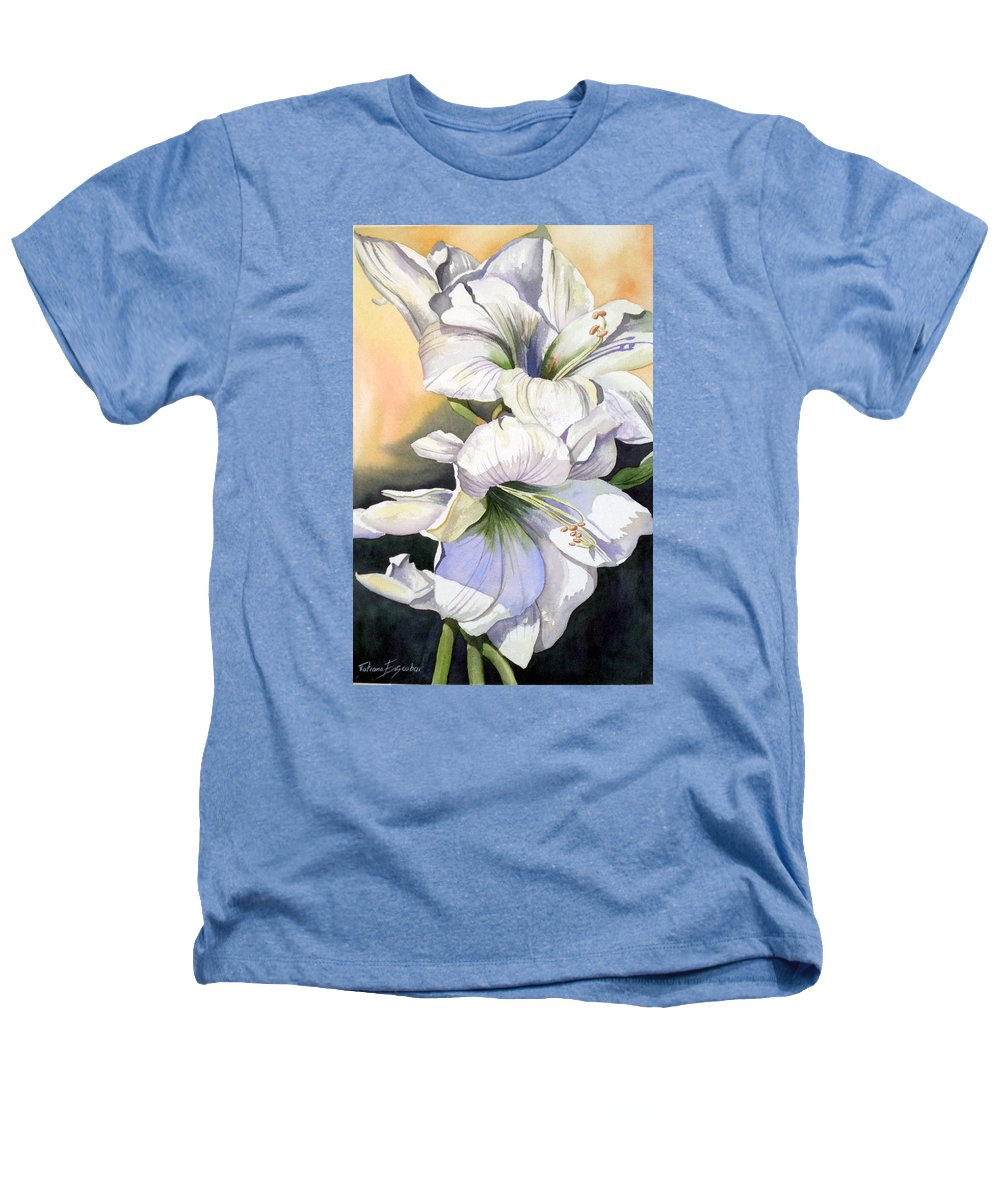 Flower Heathers T-Shirt featuring the painting My Love by Tatiana Escobar
