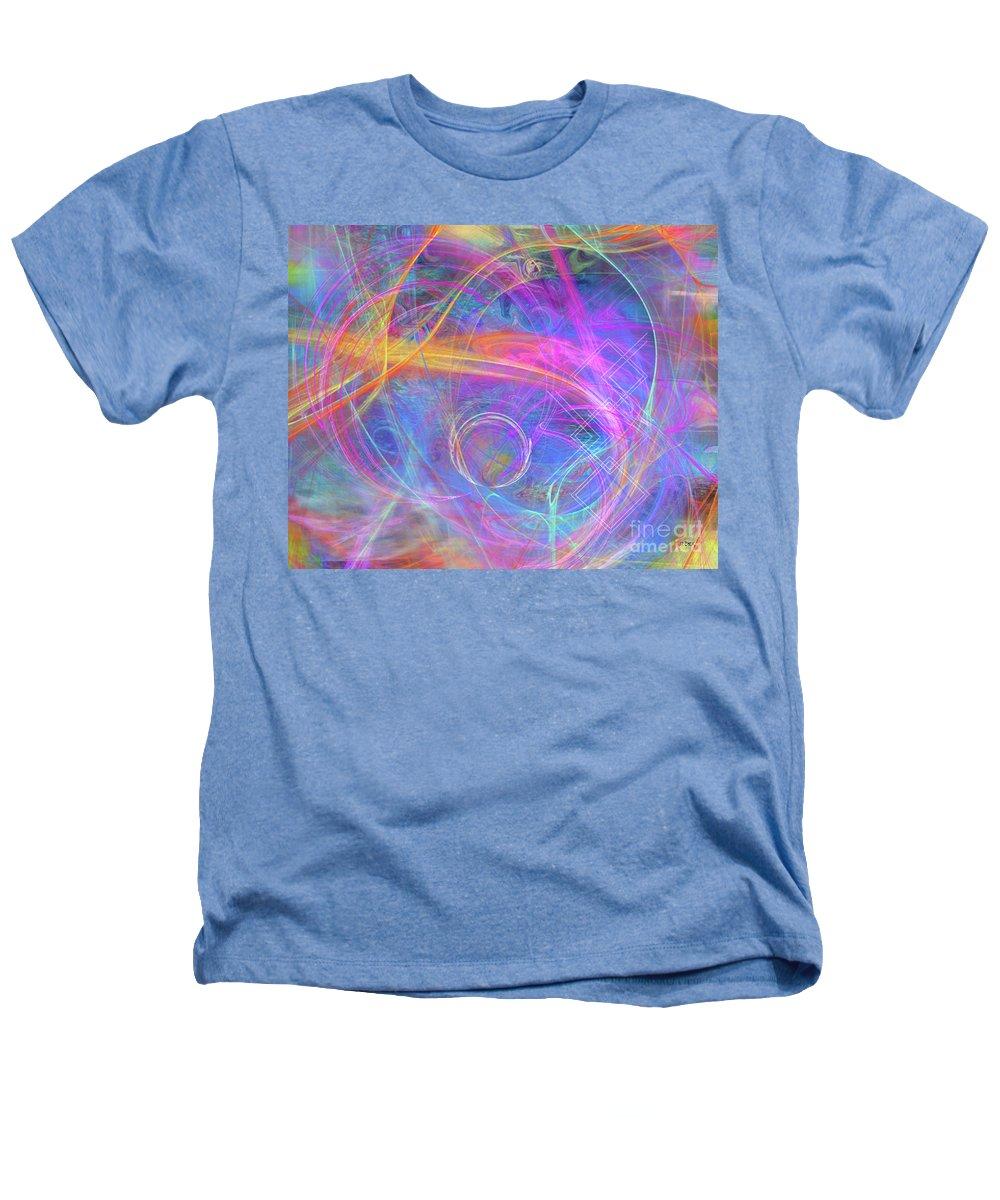 Mystic Beginning Heathers T-Shirt featuring the digital art Mystic Beginning by John Beck
