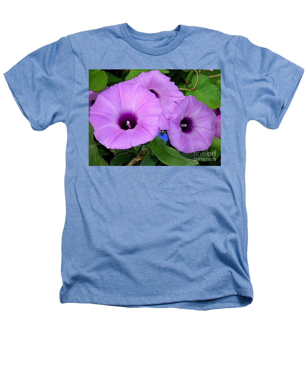 Nature Heathers T-Shirt featuring the photograph Nature In The Wild - Morning Bells by Lucyna A M Green