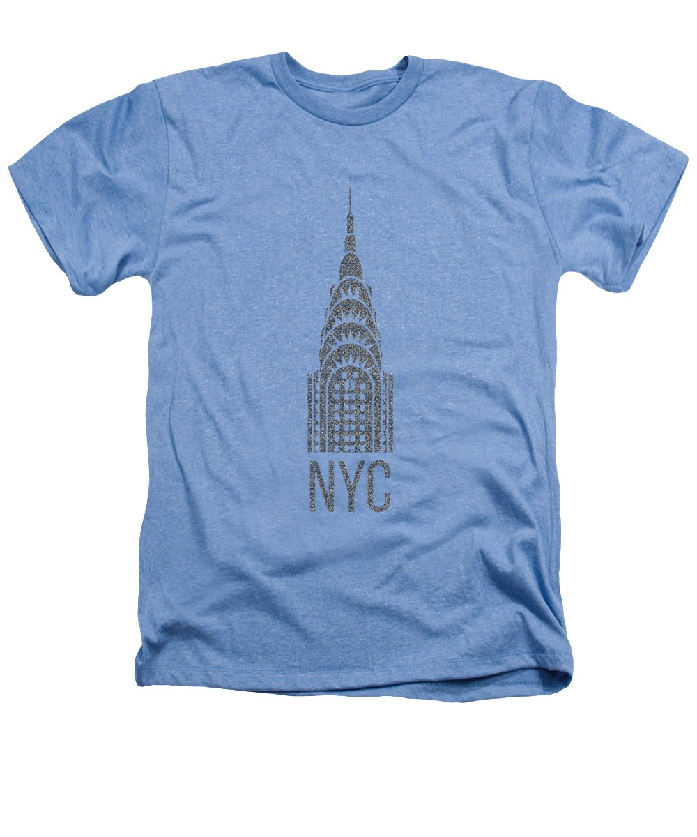 Chrysler Building Heathers T-Shirts