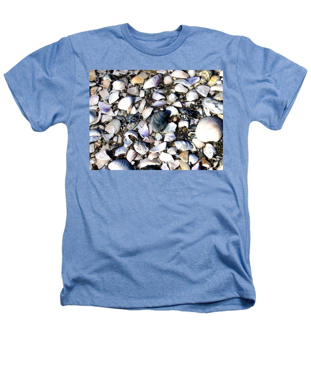 Ocracoke Heathers T-Shirt featuring the photograph Ocracoke Shells by Wayne Potrafka