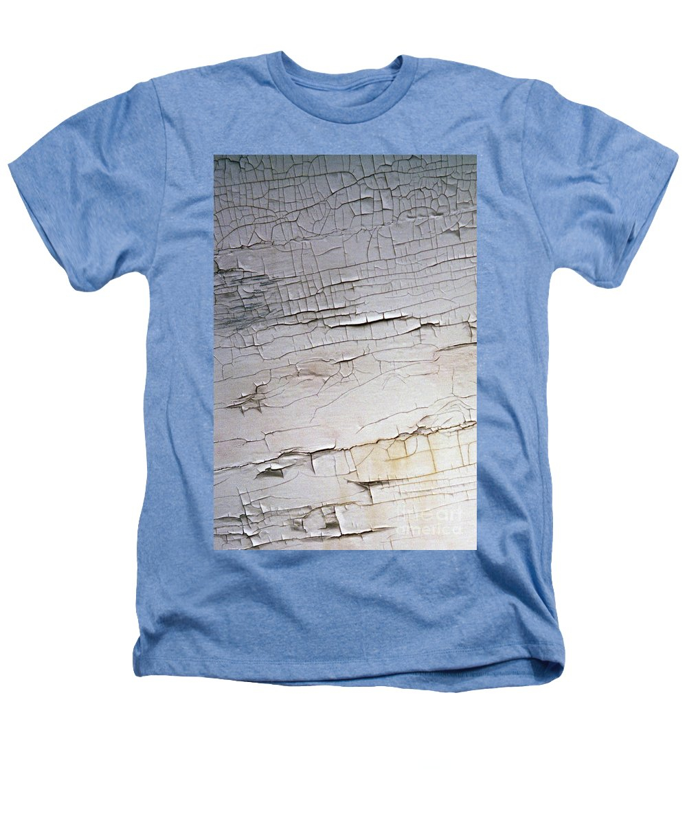 Paint Heathers T-Shirt featuring the photograph Old Siding by Richard Rizzo