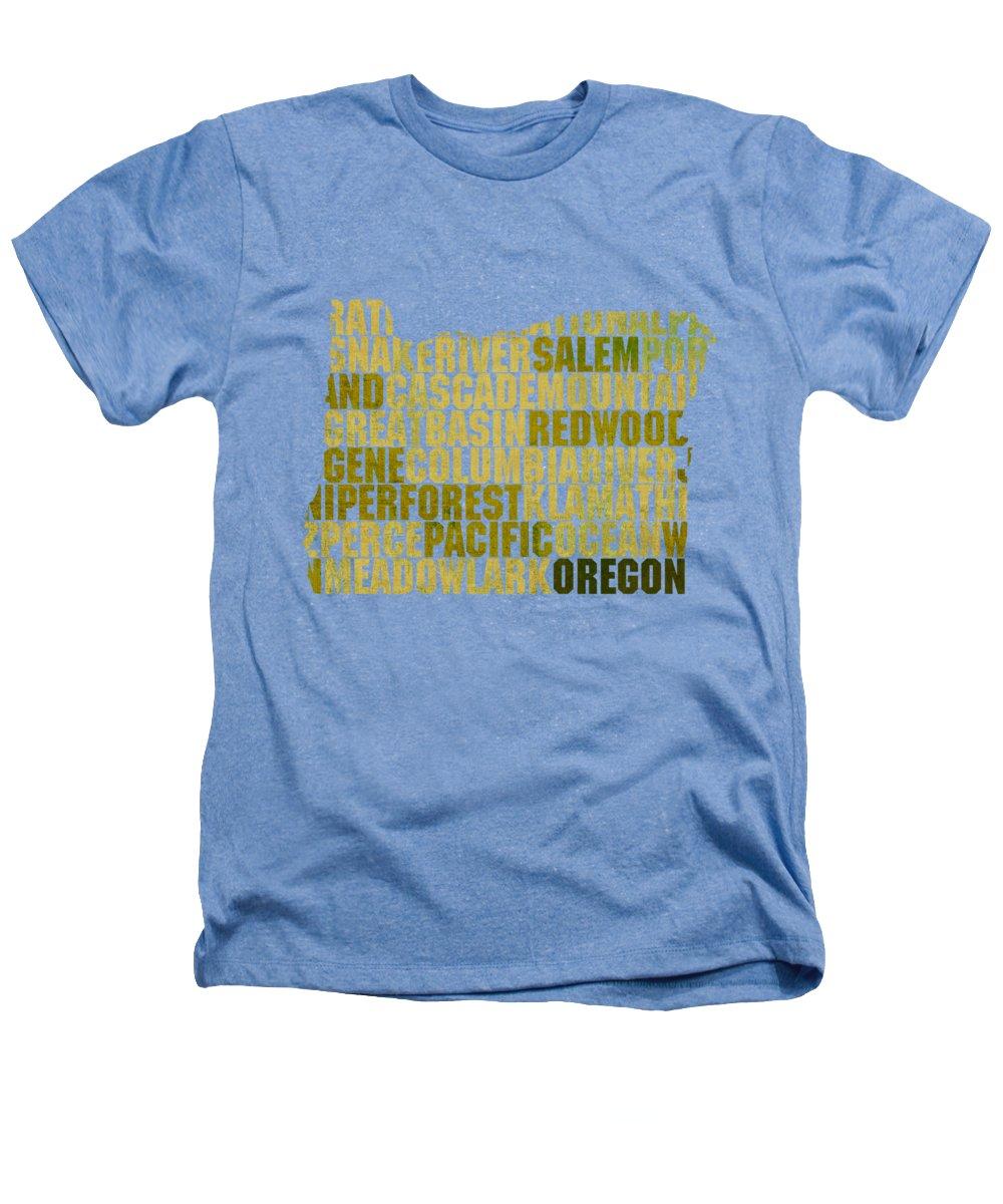 Oregon State Heathers T-Shirts
