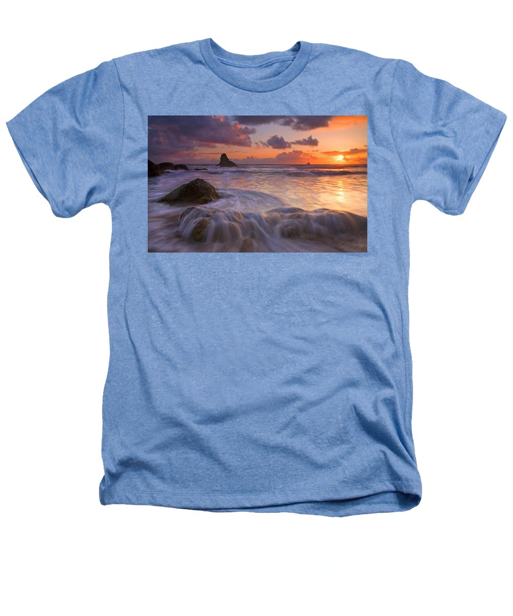 Sunset Heathers T-Shirt featuring the photograph Overcome by Mike Dawson