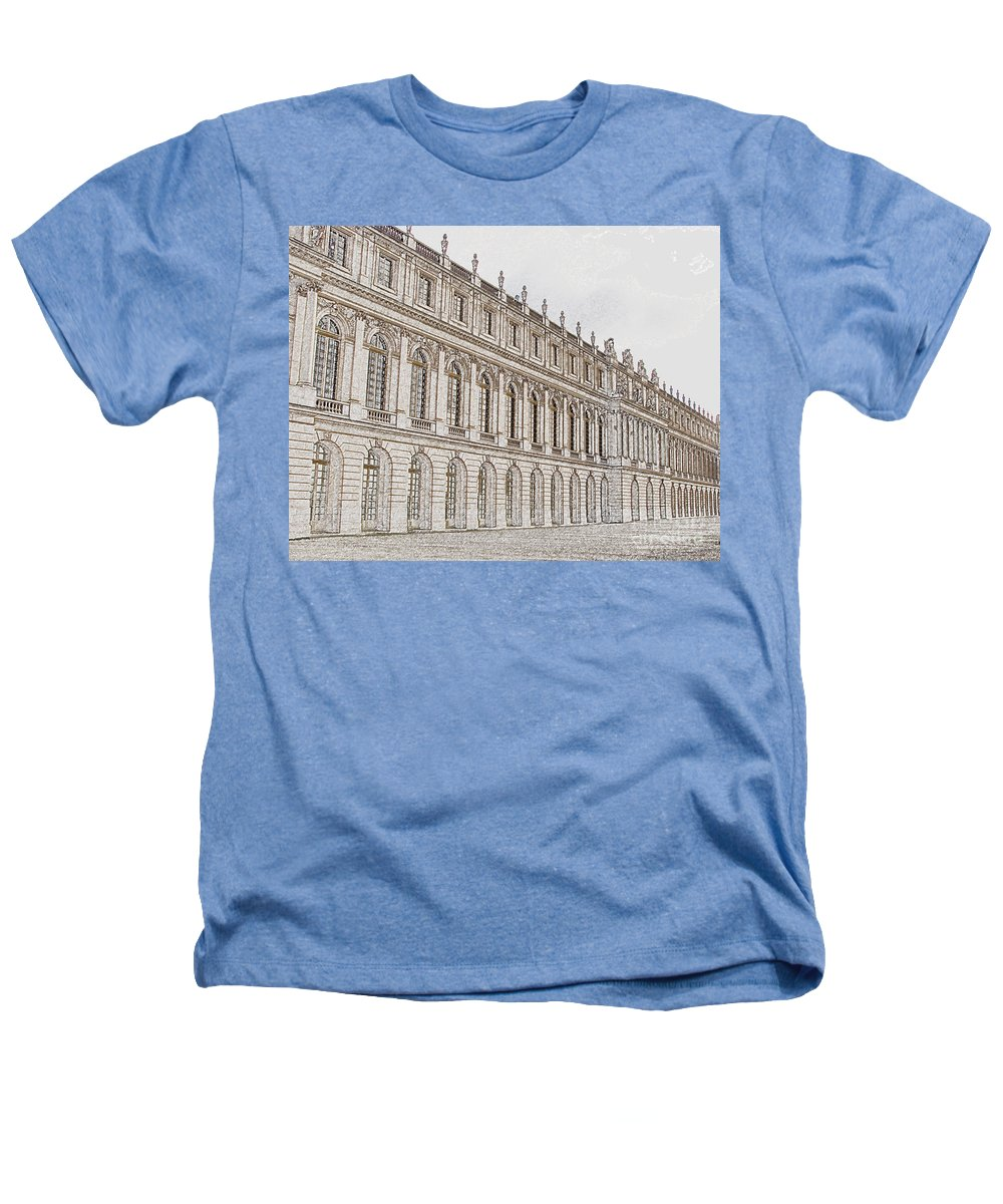France Heathers T-Shirt featuring the photograph Palace Of Versailles by Amanda Barcon