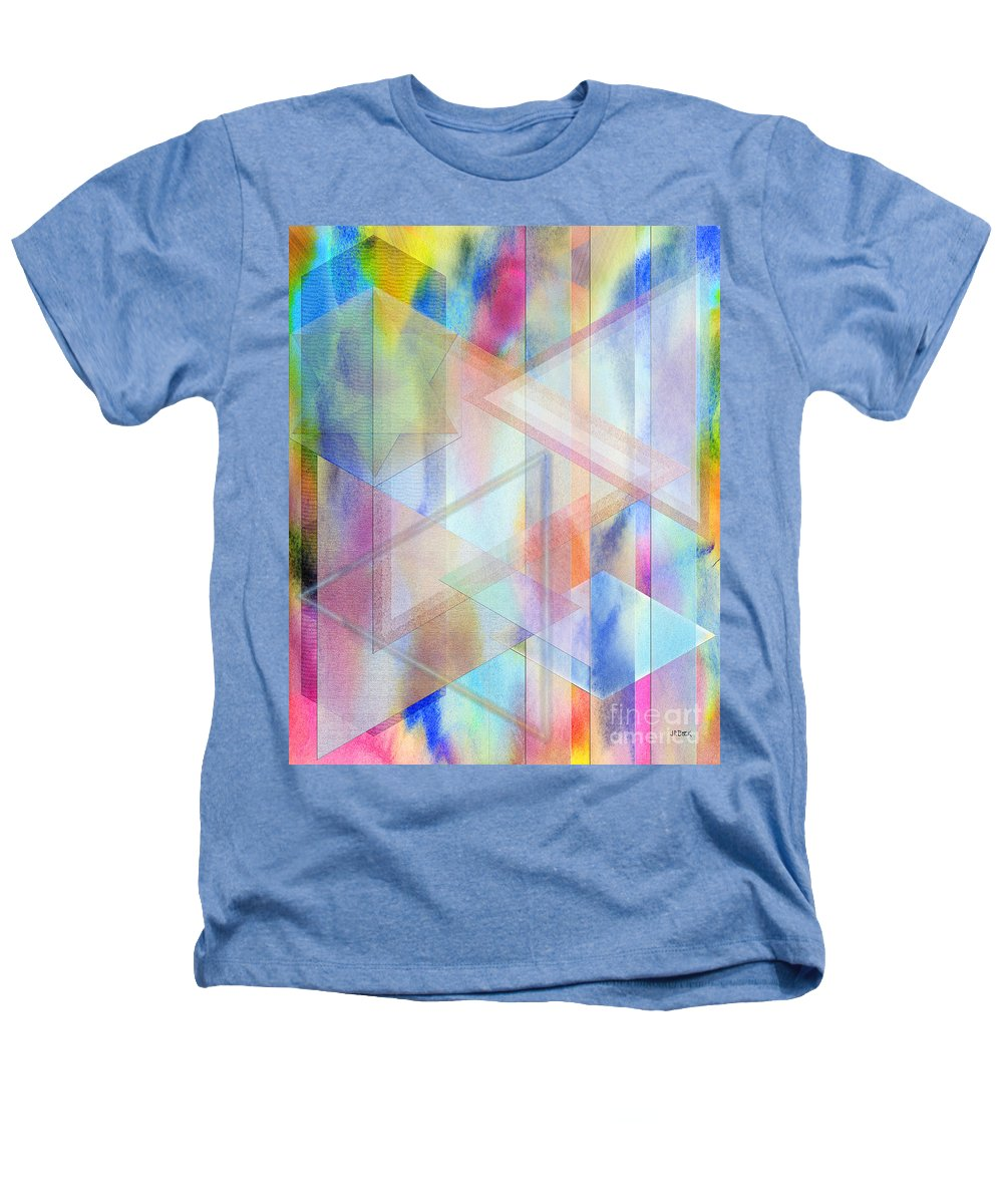Pastoral Moment Heathers T-Shirt featuring the digital art Pastoral Moment by John Beck
