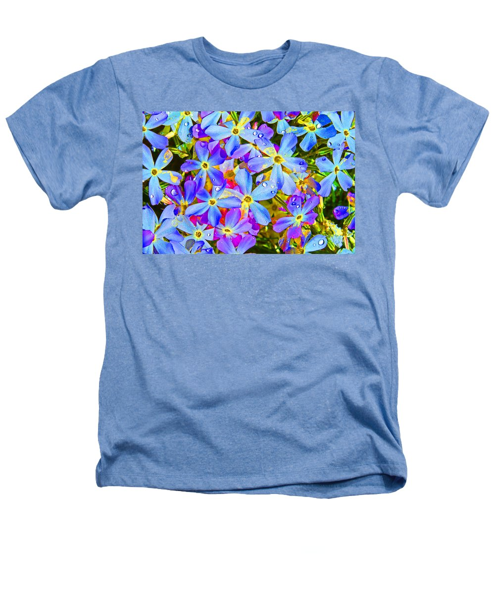 Wildflower Heathers T-Shirt featuring the photograph Pincushion Flower by Heather Coen