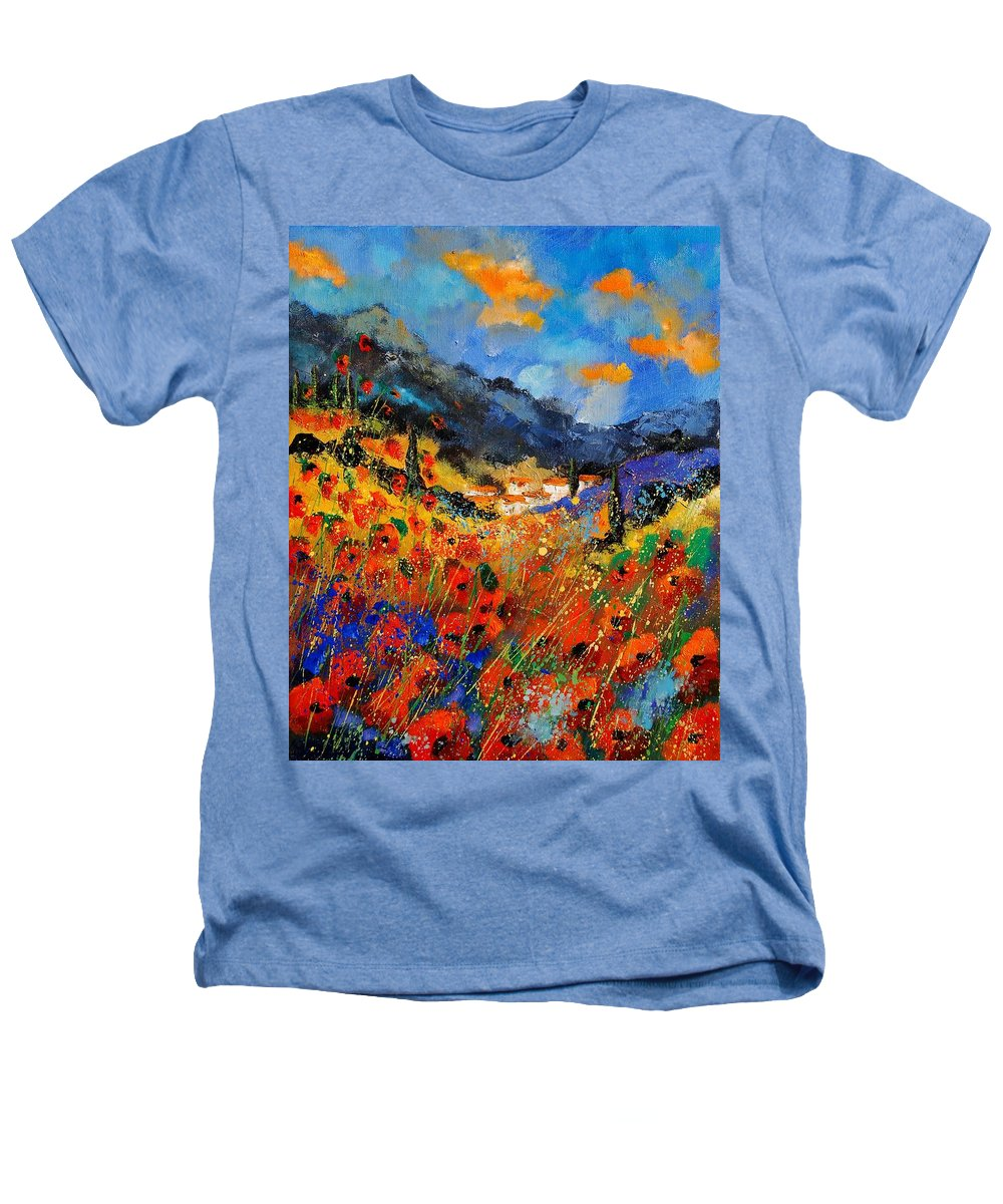 Heathers T-Shirt featuring the painting Provence 459020 by Pol Ledent