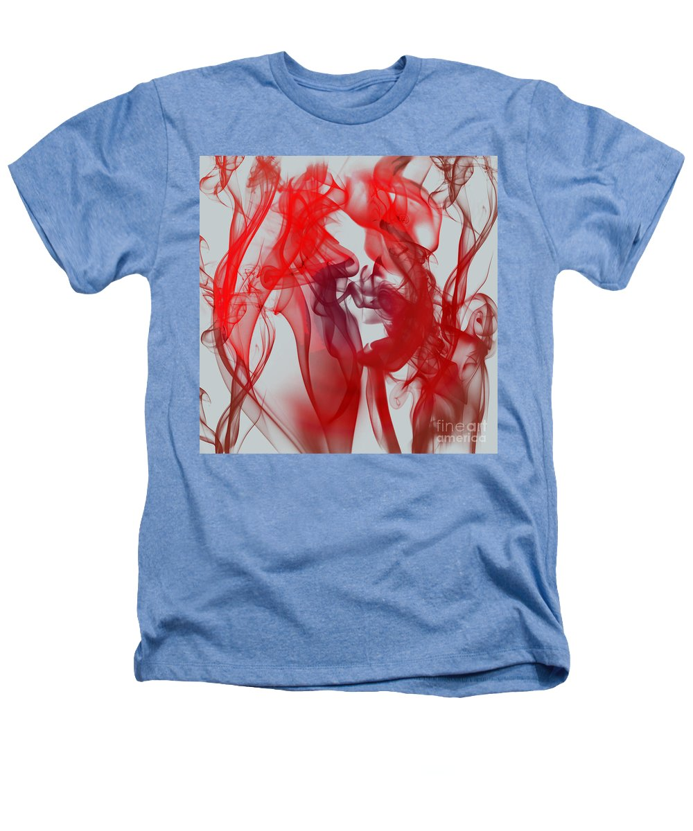 Clay Heathers T-Shirt featuring the digital art Red Alert by Clayton Bruster
