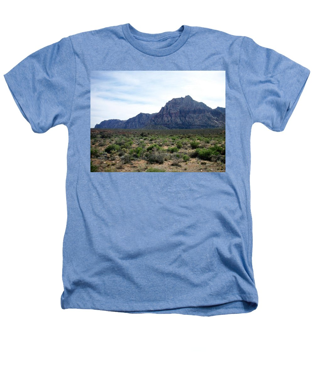 Red Rock Canyon Heathers T-Shirt featuring the photograph Red Rock Canyon 3 by Anita Burgermeister