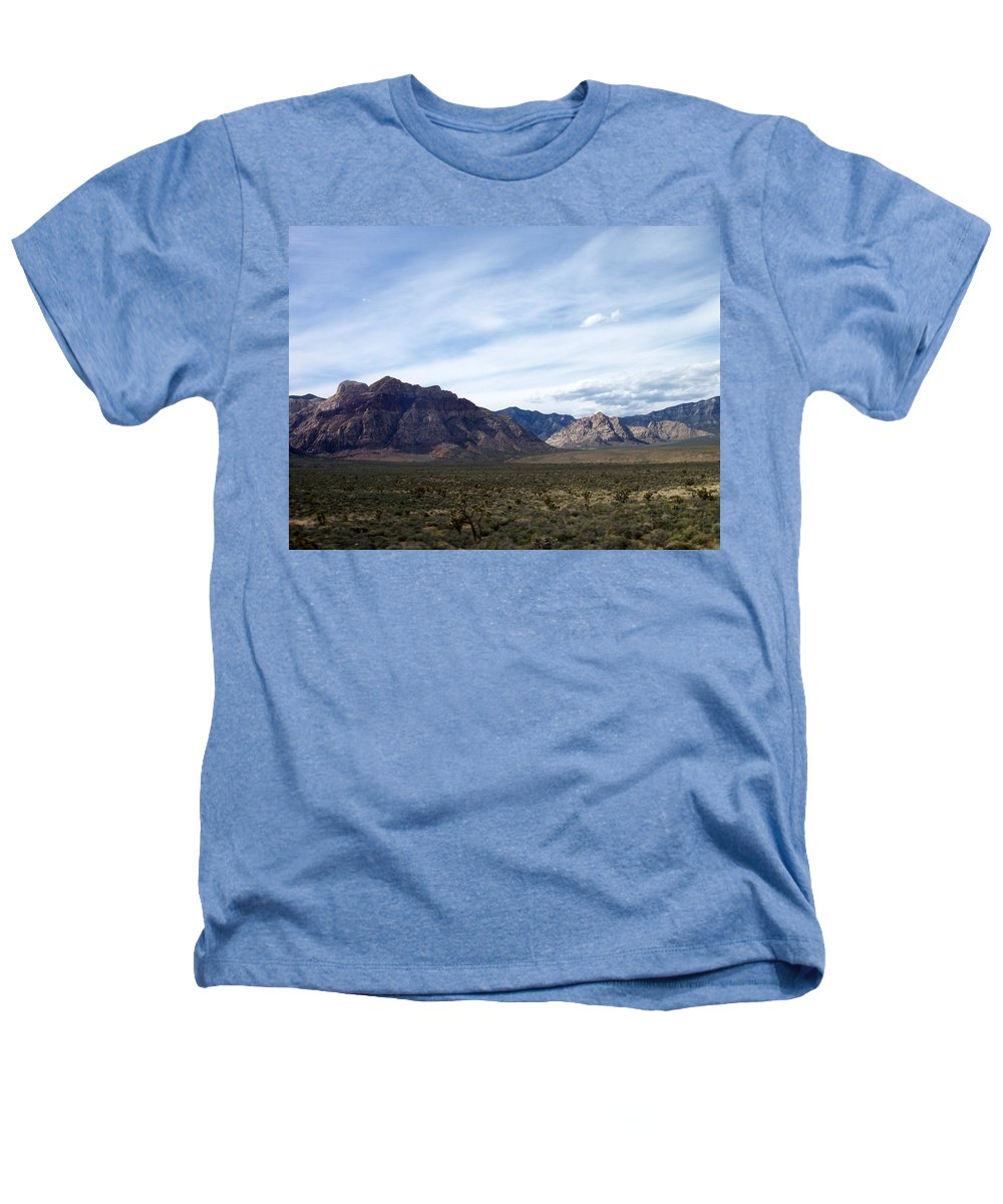 Red Rock Canyon Heathers T-Shirt featuring the photograph Red Rock Canyon 4 by Anita Burgermeister