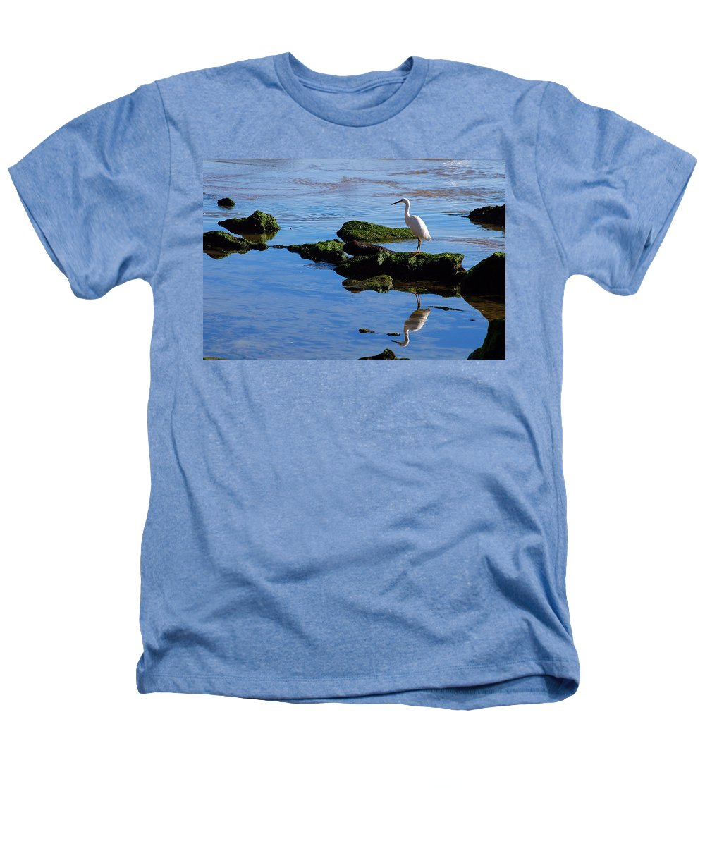 Clay Heathers T-Shirt featuring the photograph Reflecting On Dinner by Clayton Bruster