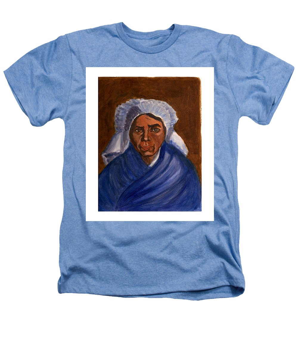 Peasant Woman By Van Gogh Reproduced Heathers T-Shirt featuring the painting Reproduction Of Van Gogh by Asha Sudhaker Shenoy