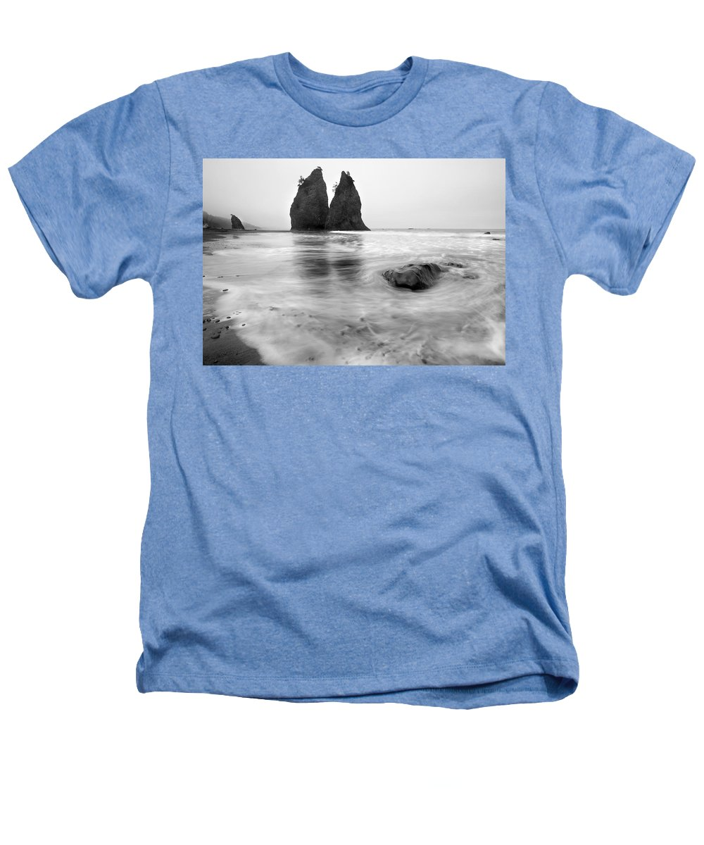 Beach Heathers T-Shirt featuring the photograph Rialto Reflections by Mike Dawson