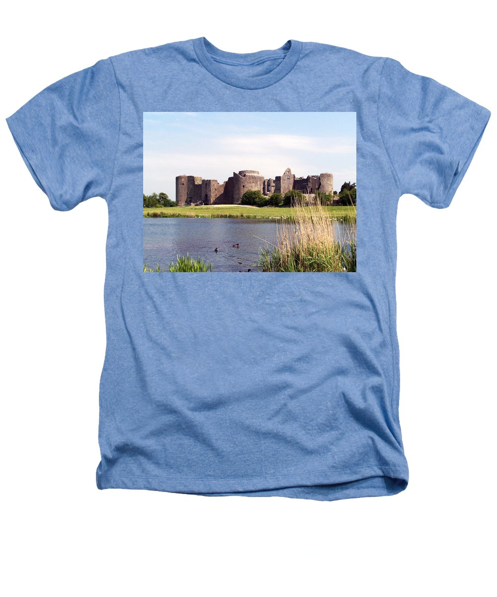 Roscommon Heathers T-Shirt featuring the photograph Roscommon Castle Ireland by Teresa Mucha