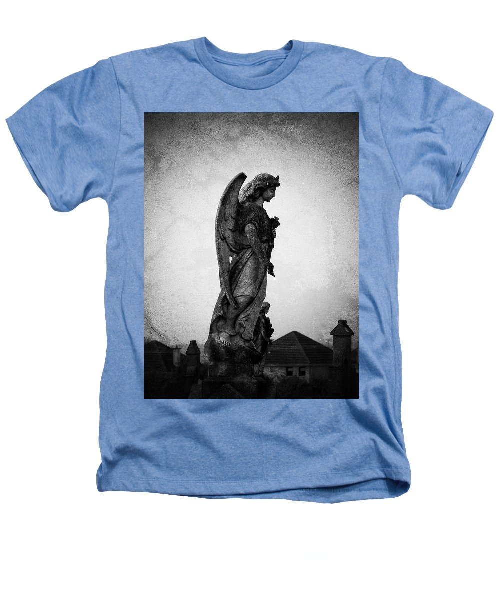 Roscommon Heathers T-Shirt featuring the photograph Roscommonn Angel No 4 by Teresa Mucha