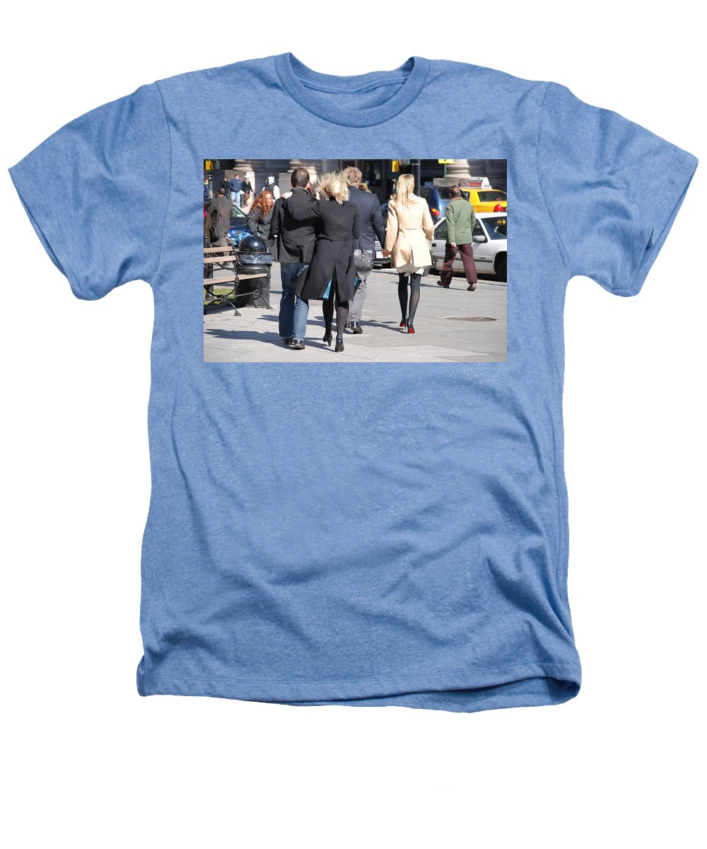 Urban Heathers T-Shirt featuring the photograph Rushing To The Alter by Rob Hans