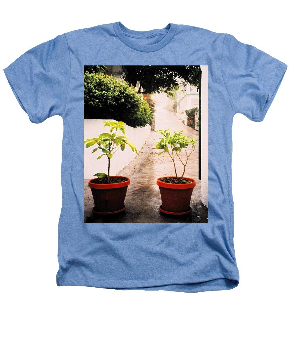 Saba Heathers T-Shirt featuring the photograph Saba by Ian MacDonald